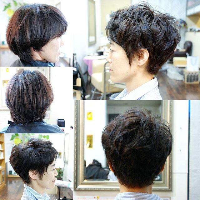 いつもご来店いただいているお客様。さっぱりとしたい!というご要望でした。カラーもちょっとアッシュにしましょうというご提案をさせていただきました東京にいくとのことで、普段はハンドブロー仕上げですが、今回はアイロンで仕上げました#富士宮美容室#富士宮美容院#富士宮#美容院#美容室#フェリーチェヘア#ヘア#アッシュ#ヘアカラーアッシュ#ショートカット#グレー#felicehair