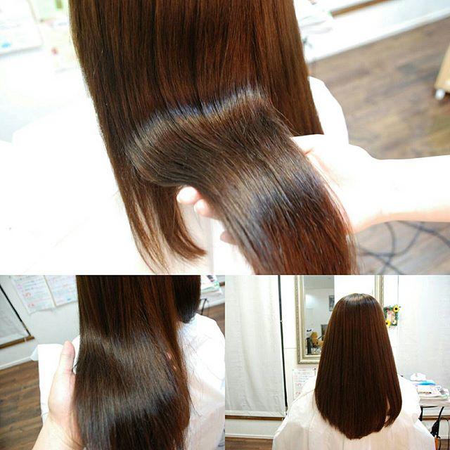 フェリーチェヘアの縮毛矯正